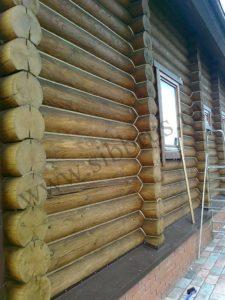 Герметизация деревянного дома г. Кемерово