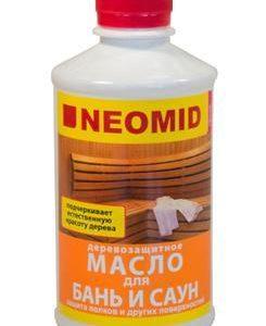 Масло для бань и саун Neomid