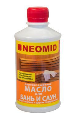 Neomid масло для бань и саун