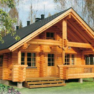 [Услуга] Герметизация деревянного дома